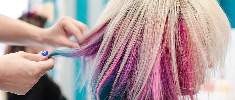 tendencias en colores unicornio para el cabello